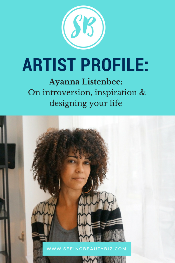 Interview with women in business ayanna listenbee | seeing beauty